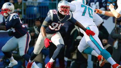 16. DE Chandler Jones, New England Patriots