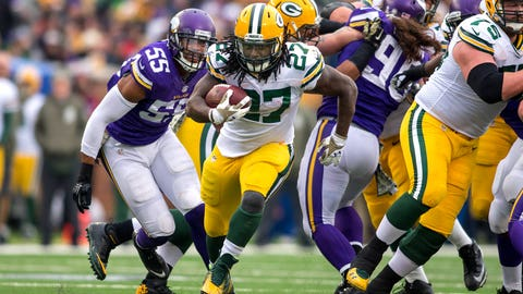 7. RB Eddie Lacy, Green Bay Packers