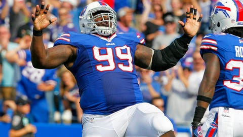 9. DT Marcell Dareus, Buffalo Bills