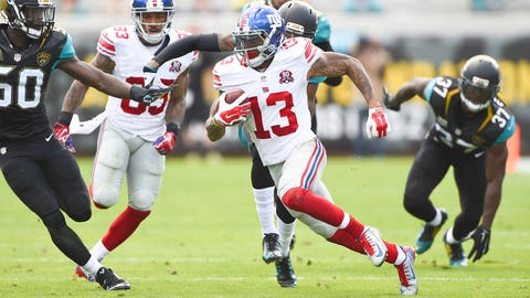 3. WR Odell Beckham Jr., New York Giants
