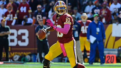 22. QB Robert Griffin III, Washington Redskins