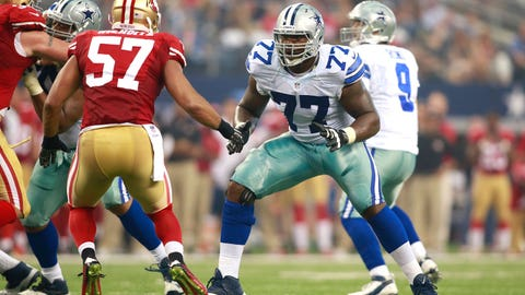 5. OT Tyron Smith, Dallas Cowboys