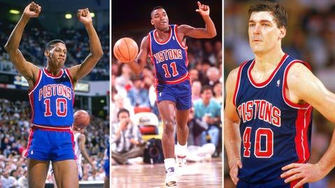 9. 1990 Detroit Pistons