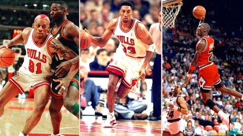 1. 1996 Chicago Bulls