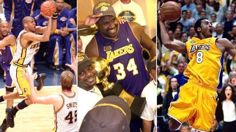 6. 2000 Los Angeles Lakers