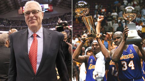Kobe + Shaq + Phil = three-peat