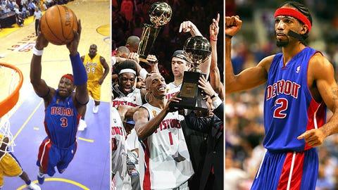 20. 2004 Detroit Pistons