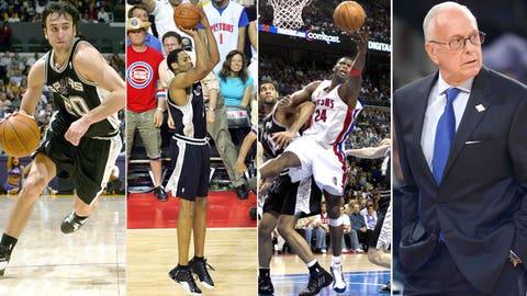 16. 2005 San Antonio Spurs