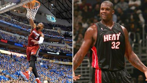 2007: Bulls (5) beat Heat (4)