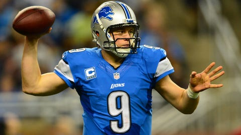 Matthew Stafford (first pick, 2009, Detroit Lions)