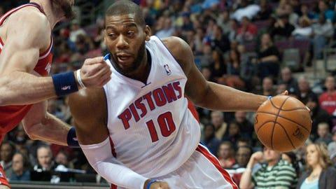 Greg Monroe, 6-11, C, Pistons (restricted)