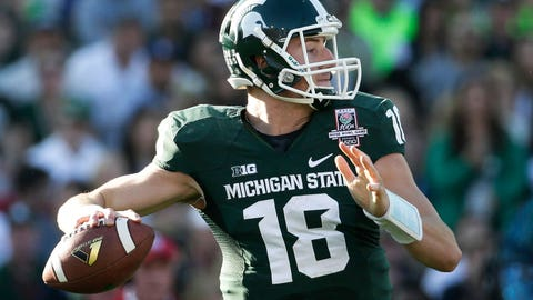 19. Michigan State Spartans: O/U 8.5