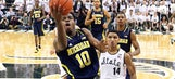 Wolverines top Spartans, remain undefeated in Big Ten