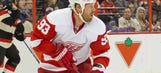 Wings' Franzen NHL's first star of the week