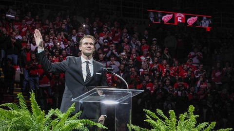 Lidstrom ceremony
