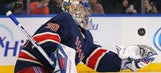 Rangers shut out Red Wings