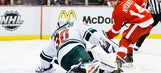 Red Wings get crucial point against Wild