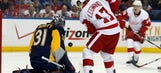 Wings inch closer to clinching a playoff berth with victory over Sabres