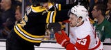 Bruins even series with 4-1 victory over Red Wings