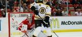 Bruins blank Wings 3-0 in Game 3