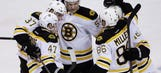NHL playoff takeaways: Luckiest goal of playoffs lifts Bruins in OT