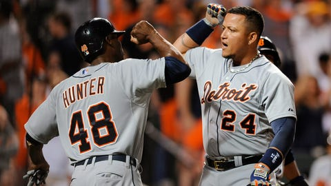 Cabrera's three-run home run helps Tiger rally to 4-1 victory