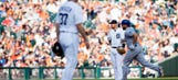 Tigers tumble out of 1st with 11-4 loss to Royals