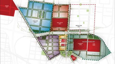 Surrounding district concept