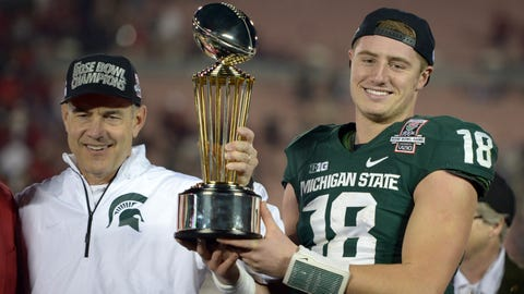 No. 22: Connor Cook, QB, Michigan State