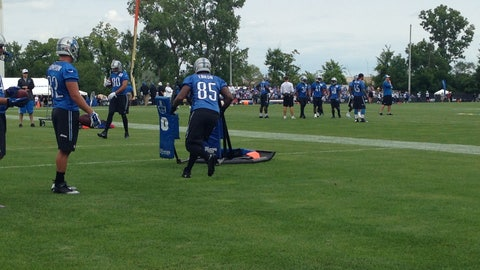 Detroit Lions Training Camp Day 2