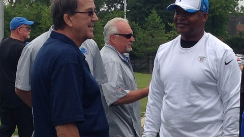Detroit Lions training camp Day 5