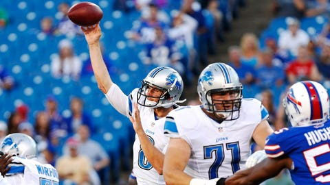Lions QB Dan Orlovsky, $1.05 million