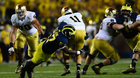 Round 5: Frank Clark, defensive end, Michigan