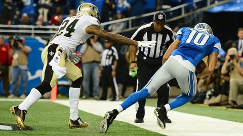 Stafford, Fuller connect for Lions' game-winning touchdown
