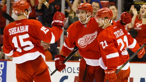 Red Wings youngsters lead successful playoff push
