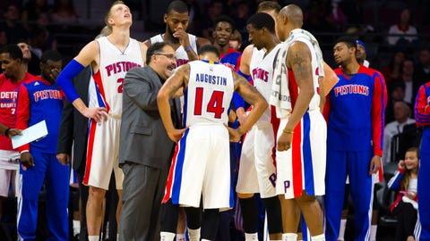 Pistons open regular season