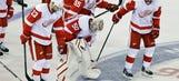 Wings recall Mrazek after Gustavsson injures shoulder