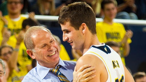 Hatch brings Michigan crowd to tears with first NCAA point