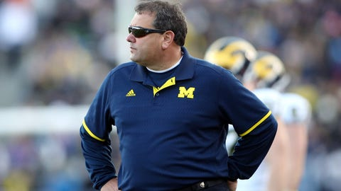 Michigan interim AD: Hoke will be evaluated at season's end