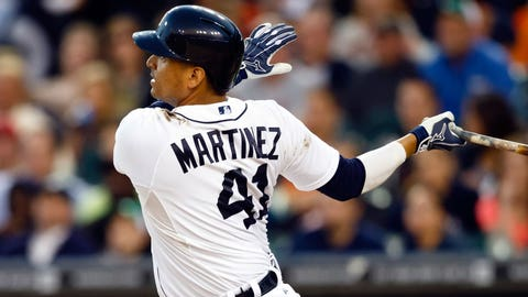 Victor Martinez: 'Happy to finish my career here in Detroit'