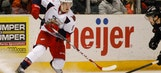 Struggling prospect Mantha scores big playoff goal in Griffins' victory