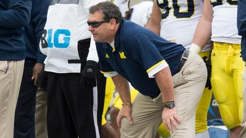 Brady Hoke's future at Michigan in question