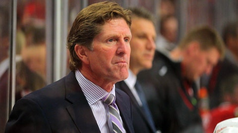 Wings brass: Take Babcock at his word, but we still want him