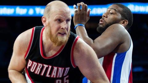 Portland Trail Blazers - Chris Kaman, Age: 33