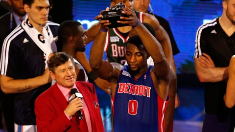 Andre Drummond rises to the occasion