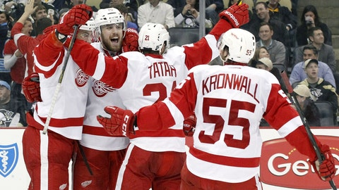 Red Wings make the Stanley Cup playoffs for the 23rd consecutive season