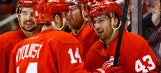 Wings open six-game road trip in Vancouver Saturday