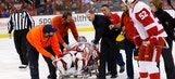Wings' Howard leaves game against Capitals with groin injury
