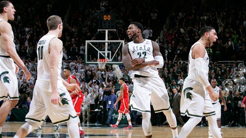 Valentine (yes, really) sinks game-winner for Michigan State