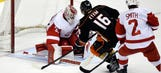 Wings fall in shootout as Holland evaluates roster